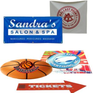 TARPAULINS / ADHESIVES / BANNERS