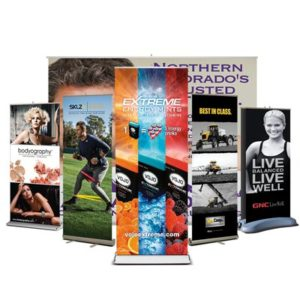 Roll-up / Retractable Banner