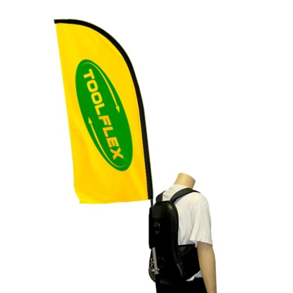 Backpack flag