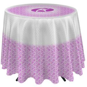 """Nexis™ Café Table Throw (27"""" overhang)"""