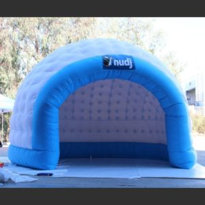 Inflatable Shell Tent Personalized Printed