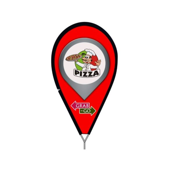Bullet™ Flag Location Pin